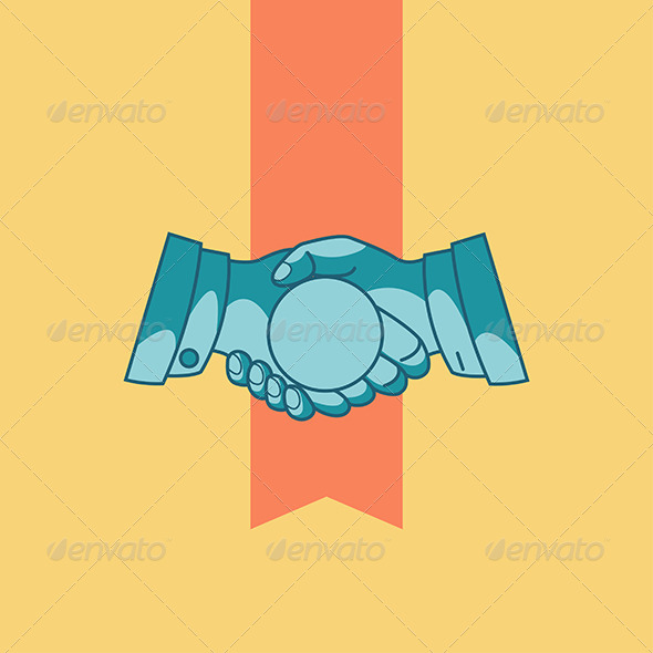 GraphicRiver Handshake 8337259