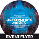 Alternative Music Event Flyer Design - GraphicRiver Item for Sale