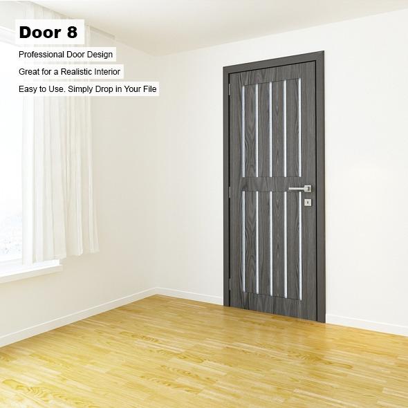 Door 8 - 3DOcean Item for Sale