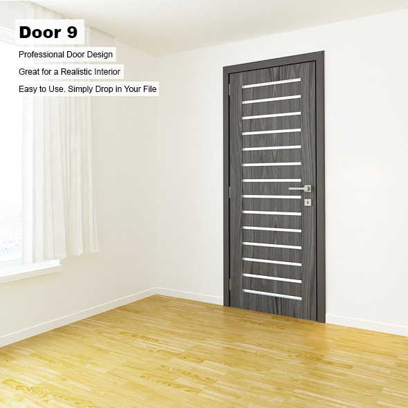 Door 9 - 3DOcean Item for Sale