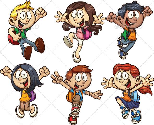 GraphicRiver School Kids 8377420