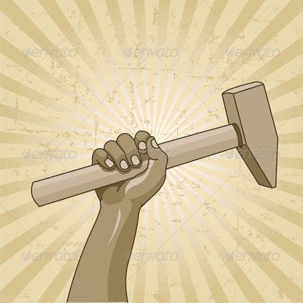 GraphicRiver Symbol of Labor Day 8377498