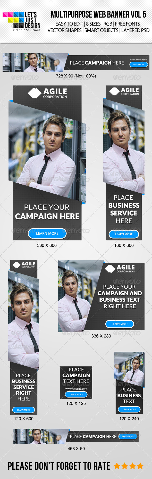GraphicRiver Creative Multipurpose Web Banner Vol 5 8377503