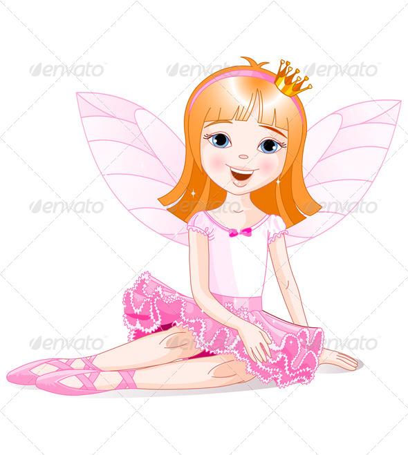GraphicRiver Fairy Ballerina 8377504