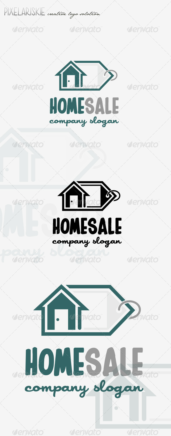 GraphicRiver Home Sale Logo 8377510