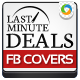 Travel Last minute deal Facebook cover page - GraphicRiver Item for Sale