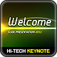Hi-Tech Lights Keynote - GraphicRiver Item for Sale