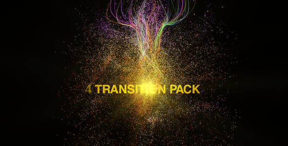 After Effects Project - VideoHive Particules Transitions Pack 852423