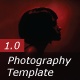 Photography Template 1.0 - ActiveDen Item for Sale