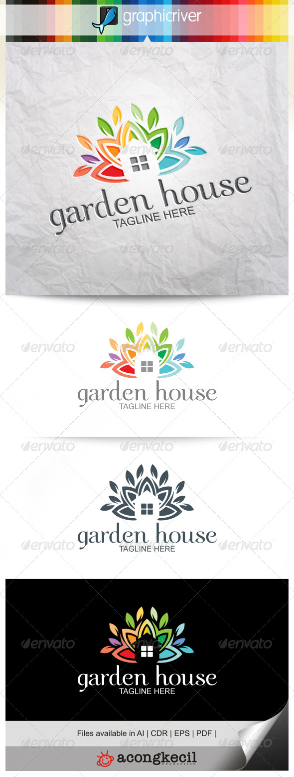 GraphicRiver Garden House 8379141