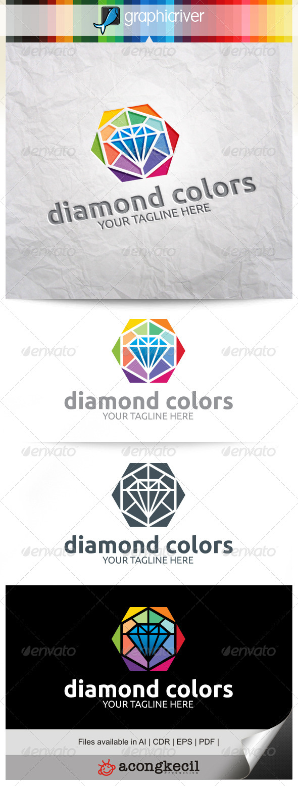 GraphicRiver Diamond Colors V.4 8381843
