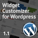 Widget Customizer for Wordpress