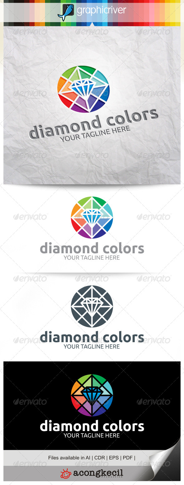 GraphicRiver Diamond Colors V.5 8383305