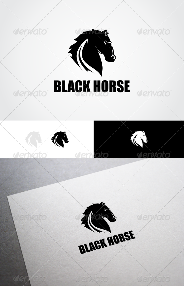 GraphicRiver Black Horse 8338688
