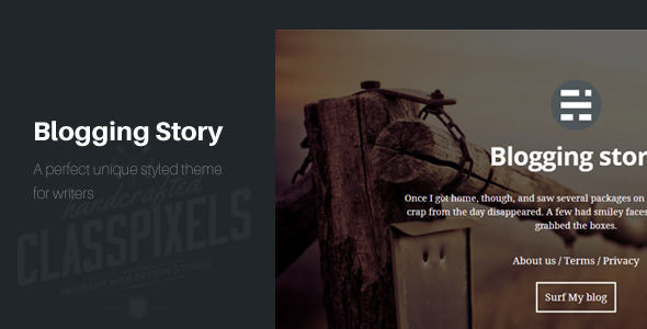 Blogging Story Responsive Ghost Theme
