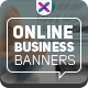 Online Business Banners - GraphicRiver Item for Sale