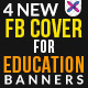 Education Facebook Cover Pages - GraphicRiver Item for Sale