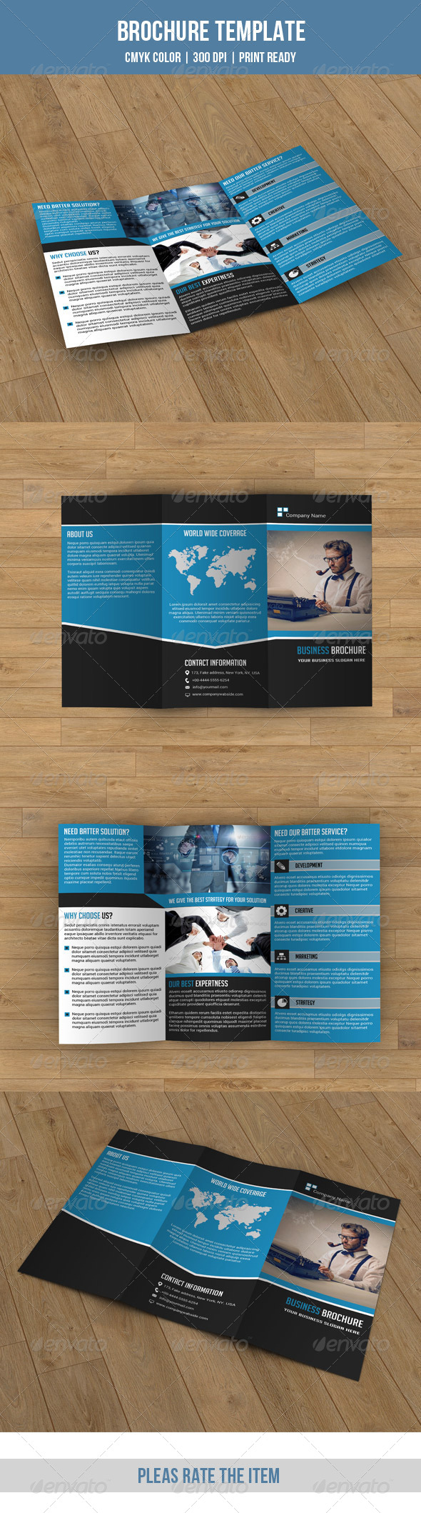 GraphicRiver Business Trifold-V40 8387619