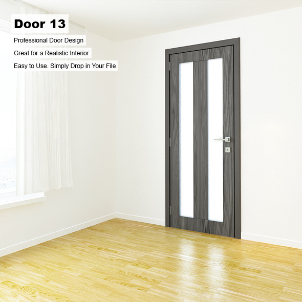 Door 13 - 3DOcean Item for Sale