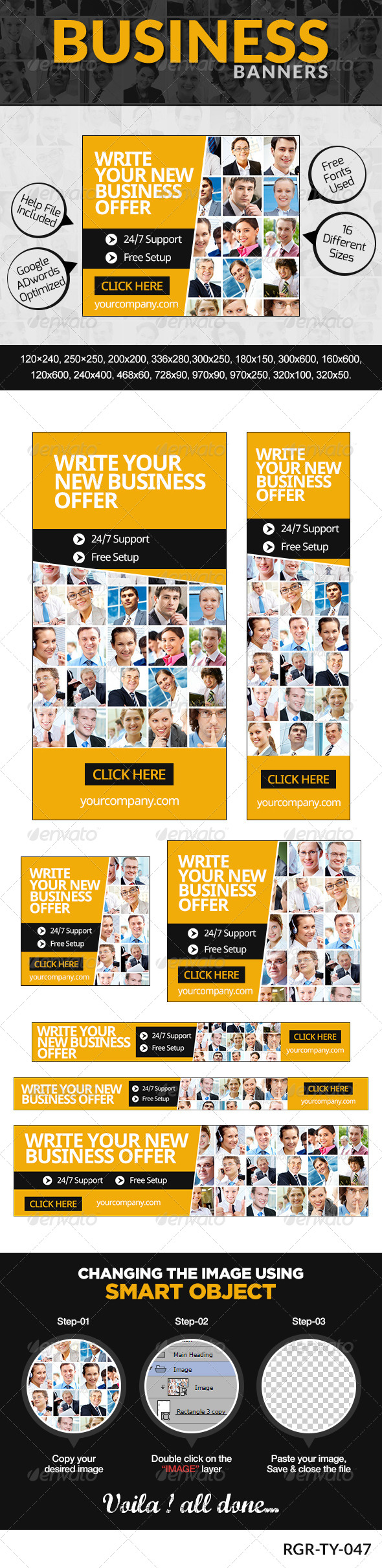 GraphicRiver Business Banners 8389426