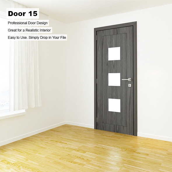 Door 15 - 3DOcean Item for Sale