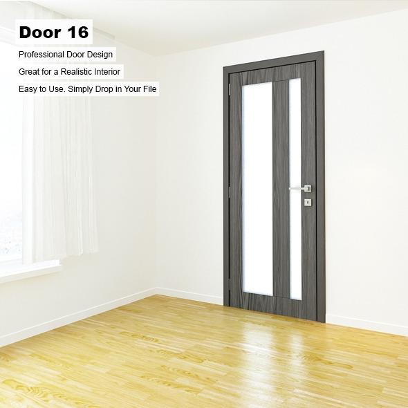 Door 16 - 3DOcean Item for Sale
