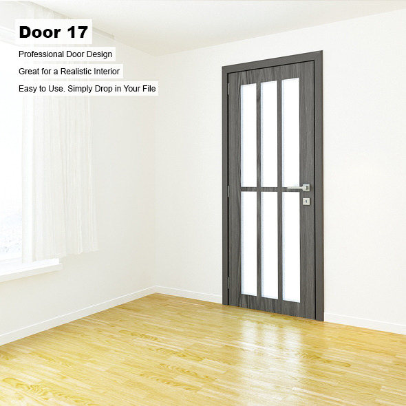 Door 17 - 3DOcean Item for Sale