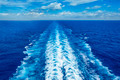 Ocean Wake from Cruise Ship - PhotoDune Item for Sale