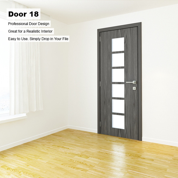 Door 18 - 3DOcean Item for Sale