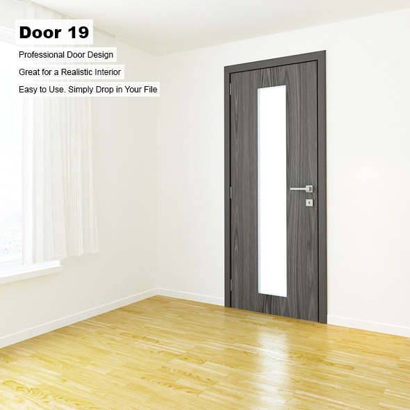 Door 19 - 3DOcean Item for Sale