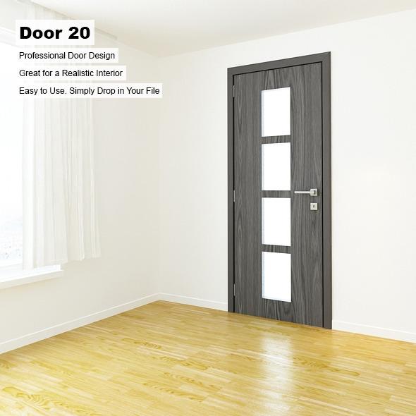 3DOcean Door 20 8389483