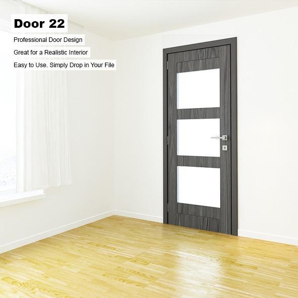 3DOcean Door 22 8389523