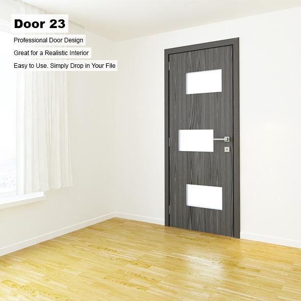 Door 23 - 3DOcean Item for Sale