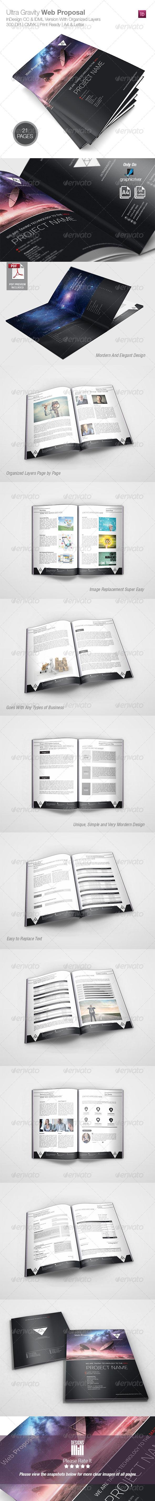 GraphicRiver Ultra Gravity Web Proposal 8373390