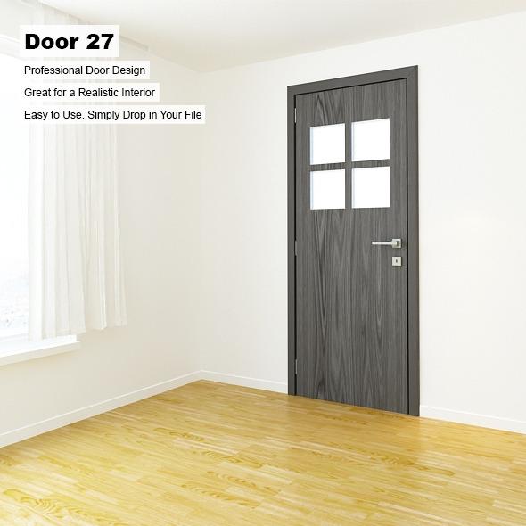 Door 27 - 3DOcean Item for Sale