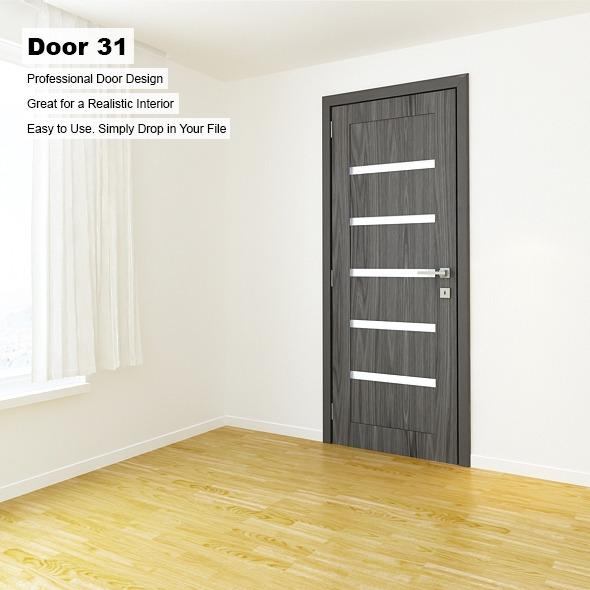 Door 31 - 3DOcean Item for Sale