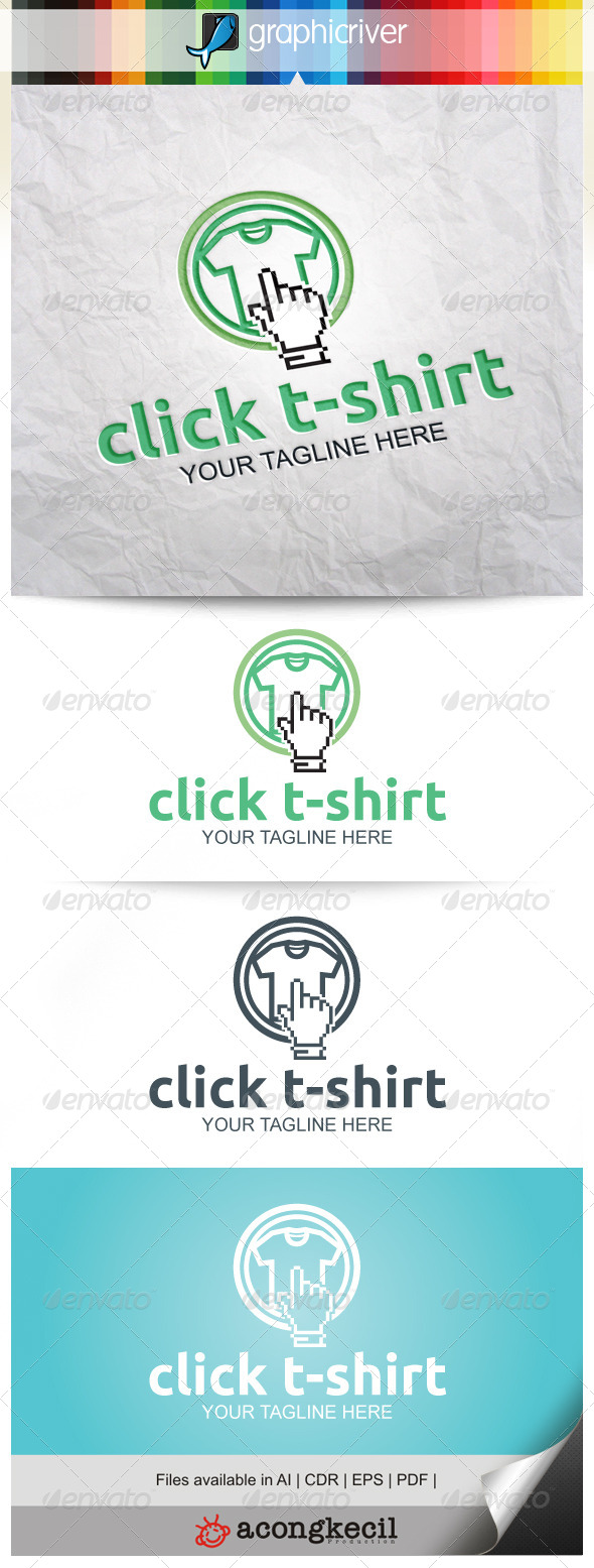 GraphicRiver Click T-Shirt 8389571