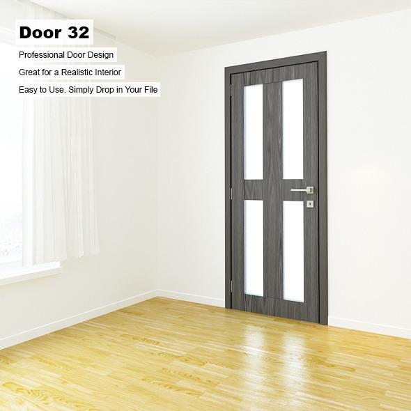 3DOcean Door 32 8389575