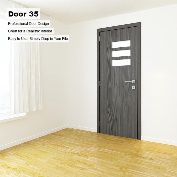 Door 35 - 3DOcean Item for Sale