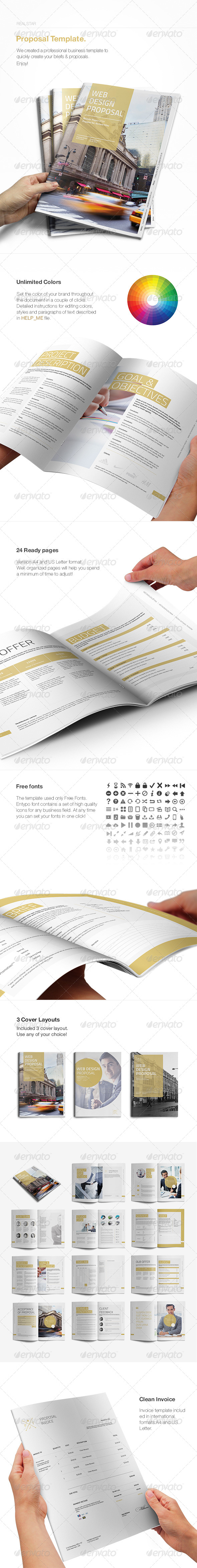 GraphicRiver Proposal Template II 8372647