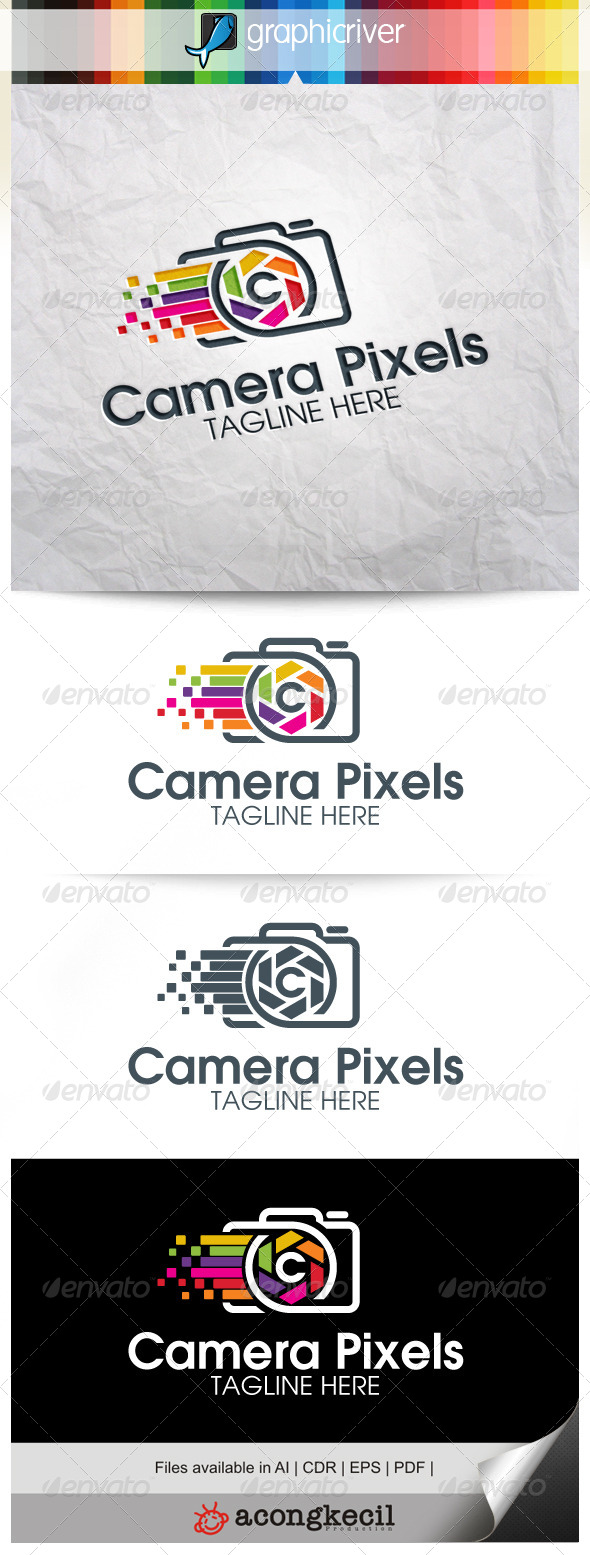 GraphicRiver Camera Pixels 8389625