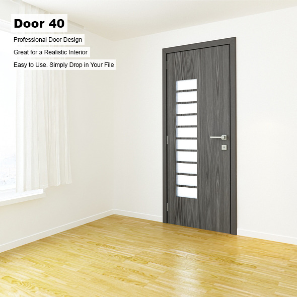 Door 40 - 3DOcean Item for Sale