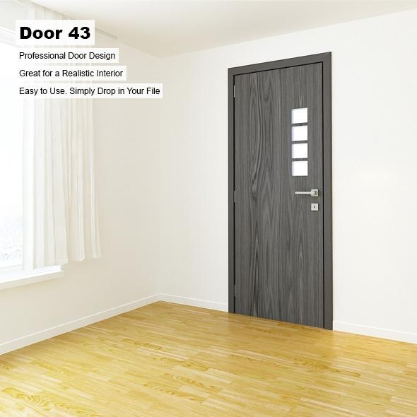 Door 43 - 3DOcean Item for Sale