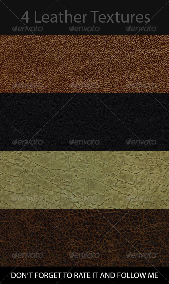 GraphicRiver 4K New Leather Texture Pack 1200dpi 8389720