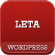 LETA - Responsive VCard WordPress Theme - ThemeForest Item for Sale