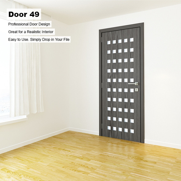 Door 49 - 3DOcean Item for Sale
