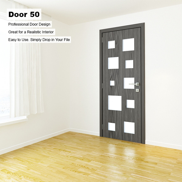 Door 50 - 3DOcean Item for Sale