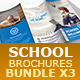 School Brochures Bundle 3x