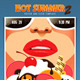 Hot Summer 2 Poster and Flyer Template - GraphicRiver Item for Sale