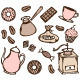 Doodle Coffee Time Set - GraphicRiver Item for Sale